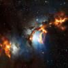 Обнаружена отражательная туманность вблизи Пояса Ориона