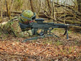 Компания General Dynamics выпускает новый легкий пулемет LWMMG