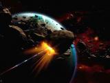 В понедельник вечером рядом с землей пролетел астероид