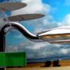 Новый уличный фонарь Holonic питается от солнца и ветра