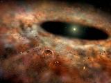 Астрономы увидели исчезновение пылевого диска вокруг звезды