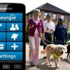 Супружеская пара создала телефон для слепых