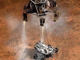 Марсоход Кьюриосити произвел посадку на Марс