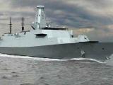 Министерство обороны Великобритании раскрыли проект нового боевого корабля
