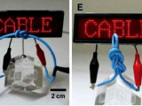 LG разработал гибкий аккумулятор в виде кабеля