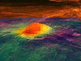 Астрономы заметили на Венере следы активных вулканов
