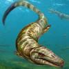 Ученые обнаружили останки рептилии, очень схожей по скелету с пресноводным дельфином.
