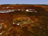 Кратеры, образовавшиеся от удара метеорита,возможно были колыбелью для ранней жизни на планете Земля