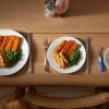 Размер тарелки влияет на избыточность веса