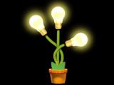 Ученые создадут светящиеся растение