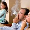 Пассивное курение изменяет поведение детей