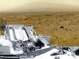 Марсоход Curiosity прислал большую панораму Марса