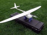 Aeromapper X5 БПЛА фотографирует карту местности и потом с помощью парашюта приземляется на землю.