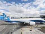 Компания Boeing показала свой первый Dreamliner 787-9