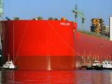 Shell Прелюдия – самый крупный плавающий корабль за последние годы