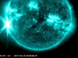 На Солнце зафиксирована мощнейшая за 11 лет вспышка
