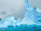 Антарктида движется в океан