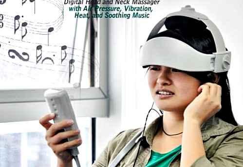 Цифровой массажер поможет снять стресс