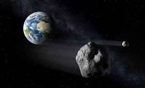 Количество астероидов вдвое увеличило угрозу для Земли