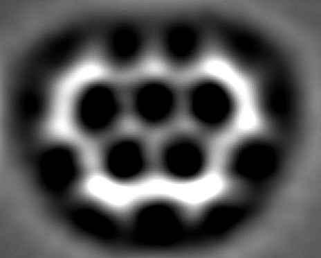 Молекула в виде олимпийских колец может применяться в электронике