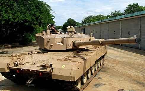 Индия испытывает новый танк Arjun Mark II