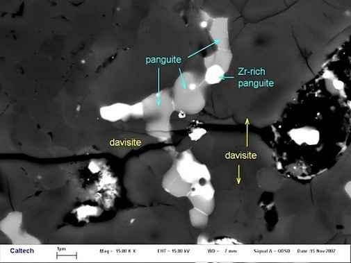 Ученые обнаружили новый минерал встроенный в метеорите, который упал на Землю более 40 лет назад
