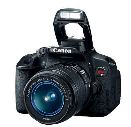 Canon представляет новые EOS Rebel T4i DSLR камеры с гибридным дисплеем AF и Multi-Touch.