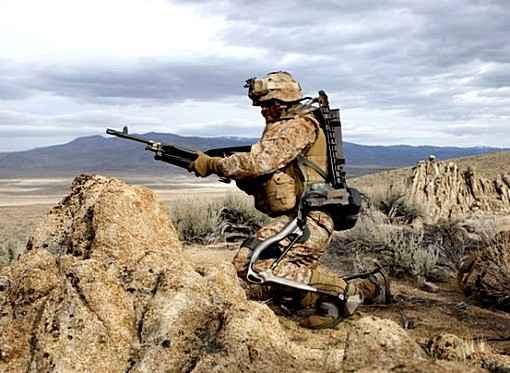 Экзоскелеты прошли испытания для солдат США