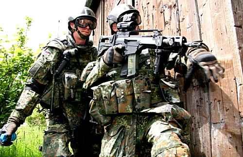Немецкие солдаты получат форму будущего