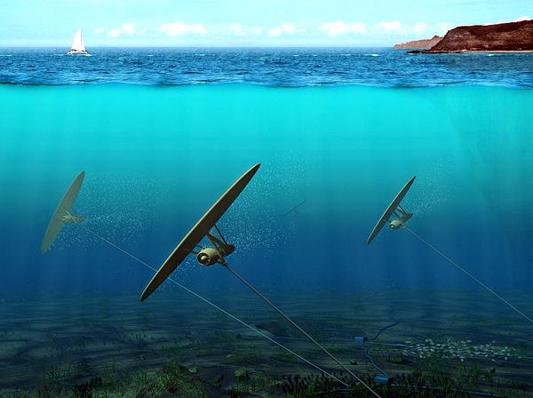 Ученые разработали подводные солнечные батареи