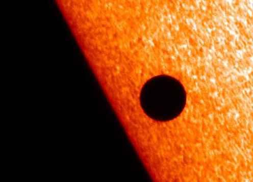 Венера покажет землянам черную «родинку» на Солнце 6 июня