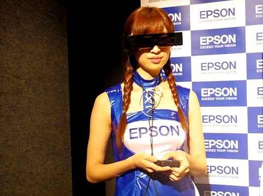 Epson выпустила на рынок свой новый дисплей в виде очков Moverio BT-100