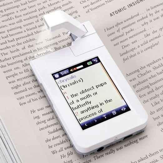 Портативный сканер поможет с переводом