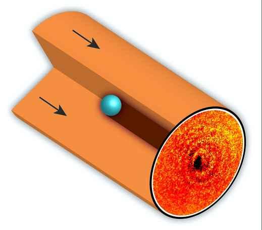 Ученые получили снимок тени атома вещества