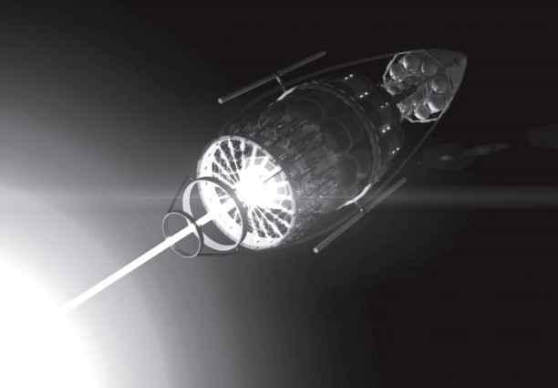 Проект VARIES предлагает начать миссию космических полетов с использованием антиматерии