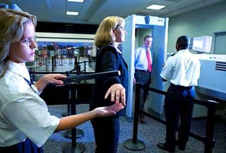 Новые технологии в аэропортах США - лазерный сканер