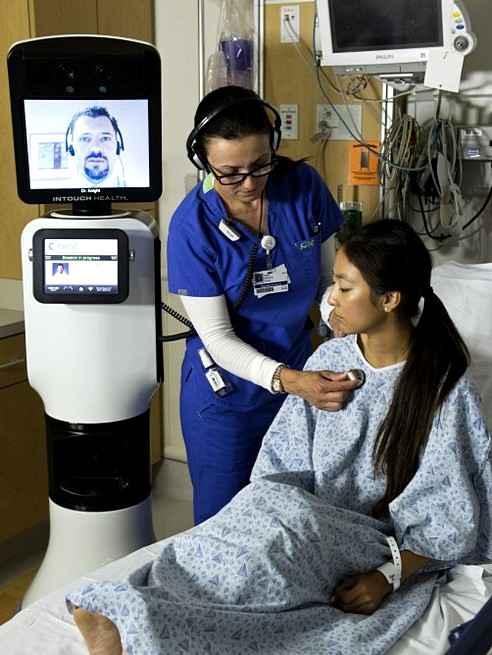 Компания iRobot создала медицинского робота телеприсутствия