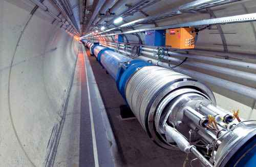 На адронном колайдере установлен мировой рекорд температуры