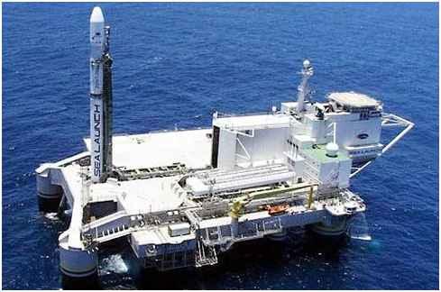 В Тихом океане произошёл запуск Зенит-3SL