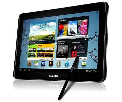 Корпорация Samsung анонсировала новый мощный Samsung Galaxy Note 10,1