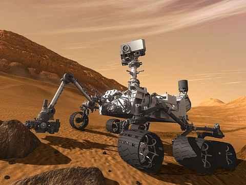 Марсоход Curiosity отправил на Землю аудиозапис