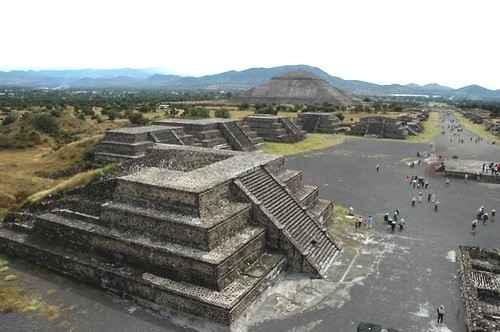 Ацтеки возводили город Теотиуакан не для людей