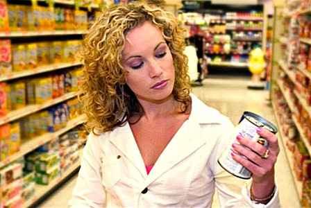 Чтение этикеток на продуктах препятствует развитию ожирения