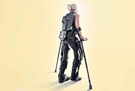 Уверенная походка биокибернетических ног