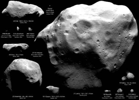 NASA предлагает студентам придумать название для астероида