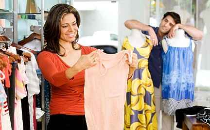 Что любят покупать женщины в магазине