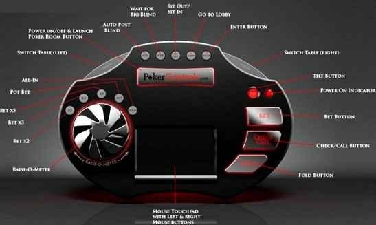 Разработано устройство-гаджет для игры в онлайн покер - Poker Controls