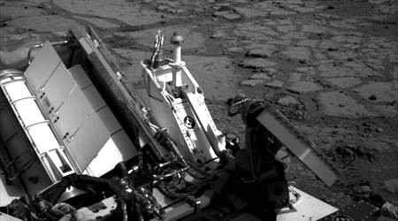 Марсоход Curiosity готовится проникнуть в недра Красной Планеты
