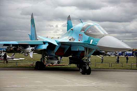 Министерство обороны РФ получило пять Су-34