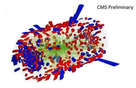 В коллайдере созданы самые маленькие капли жидкости